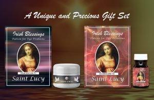 St Lucy (Patron for eye problems) Set Presentation (1)